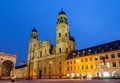 Theatine church of st cajetan in munich germany Royalty Free Stock Photo