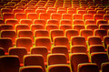 Theatre chairs Royalty Free Stock Image