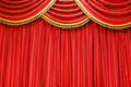 Theatre curtains Stock Photos