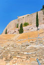 Theatre of Dionysus in Acropolis, Greece Royalty Free Stock Photography