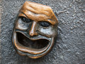 Theatre mask Royalty Free Stock Photo