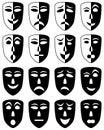 Theatre Masks Set