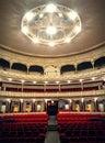 Theatre Seats in Almeria Theatre Royalty Free Stock Photo