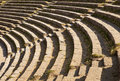 Theatre Seats in Taormina Royalty Free Stock Photography