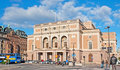 The theatre stockholm sweden october royal swedish opera kungliga operan located on gustav adolfs torg across from ministry for Stock Photo
