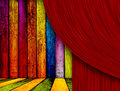 Theatrical Background Royalty Free Stock Images