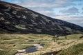 TheHighlands Mountain colorful Scotland UK Royalty Free Stock Photo