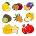The theme fruits