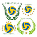 The theme volleyball Royalty Free Stock Photo