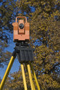 Theodolite Royalty Free Stock Photography