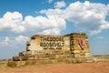 Theodore Roosevelt National Park North Dakota Royalty Free Stock Photo