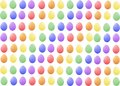 There are many nice pastel easter eggs colored and pretty Stock Photos