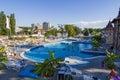 Thermal aqua park in baile felix romania Stock Images