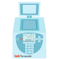 Thermal cycler - laboratory apparatus Royalty Free Stock Photo