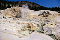 Thermal feature at lassen volcanic national park a in california Stock Photos