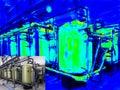 Thermal imaging Royalty Free Stock Photo