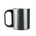 Thermal mug on a white background Stock Photos