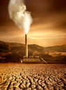 Thermal Plant Royalty Free Stock Photography
