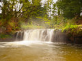 Thermal waterfall Stock Photography