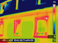 Thermographic picture Royalty Free Stock Photography