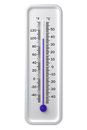 Thermometer isolated on a white background Royalty Free Stock Photography