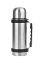 Thermos flask Royalty Free Stock Photo