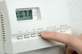 Thermostat Royalty Free Stock Photo