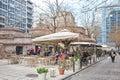 Thessaloniki. Little tavern Royalty Free Stock Photo