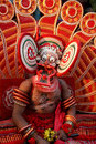Theyyam dance Stock Photography