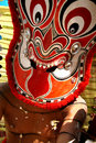 Theyyam faces Royalty Free Stock Photo