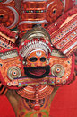 Theyyam ritual in kerala india on nov th kannur november an unidentified performer full costume during a performance of hindu Royalty Free Stock Photo