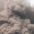 Thick dark smoke Royalty Free Stock Photo