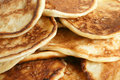 Thick pancakes Royalty Free Stock Photo