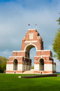 Thiepval war memorial to the first world soldiers Stock Photography