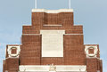 Thiepval war memorial to the first world soldiers Stock Photos