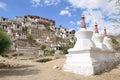 Thikse Monastery, Ladakh, India Royalty Free Stock Photo
