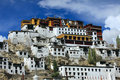 Thiksey Gompa Royalty Free Stock Photos