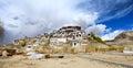 Thiksey monastery Royalty Free Stock Photo