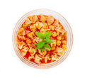 Thimble soup delicious turkish cuisine Stock Image