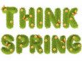 Think spring Stock Photos