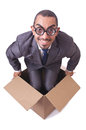 Thinking out of box Royalty Free Stock Photo