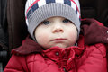 Thinking toddler Royalty Free Stock Photo