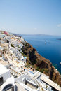 Thira, Santorini, Greece Royalty Free Stock Photo