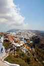 Thira, Santorini, Greece Stock Images