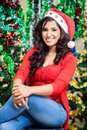 Thirasha sewwandi is a actress in srilanka news paper photoshoot at colombo december th Royalty Free Stock Photo