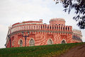Third Cavalry building, Tsaritsyno park, Moscow. Stock Photos