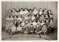 Third grade students c bucyrus ohio – december holmes liberty elementary school class pose for a yearly class portrait in holmes Stock Photography