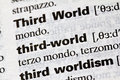 Third world literal definition english Royalty Free Stock Photos