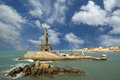 Thiruvalluvar statue, Kanyakumari, India Royalty Free Stock Photo