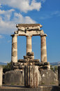 The Tholos at the sanctuary of Athena Pronaia Royalty Free Stock Photography